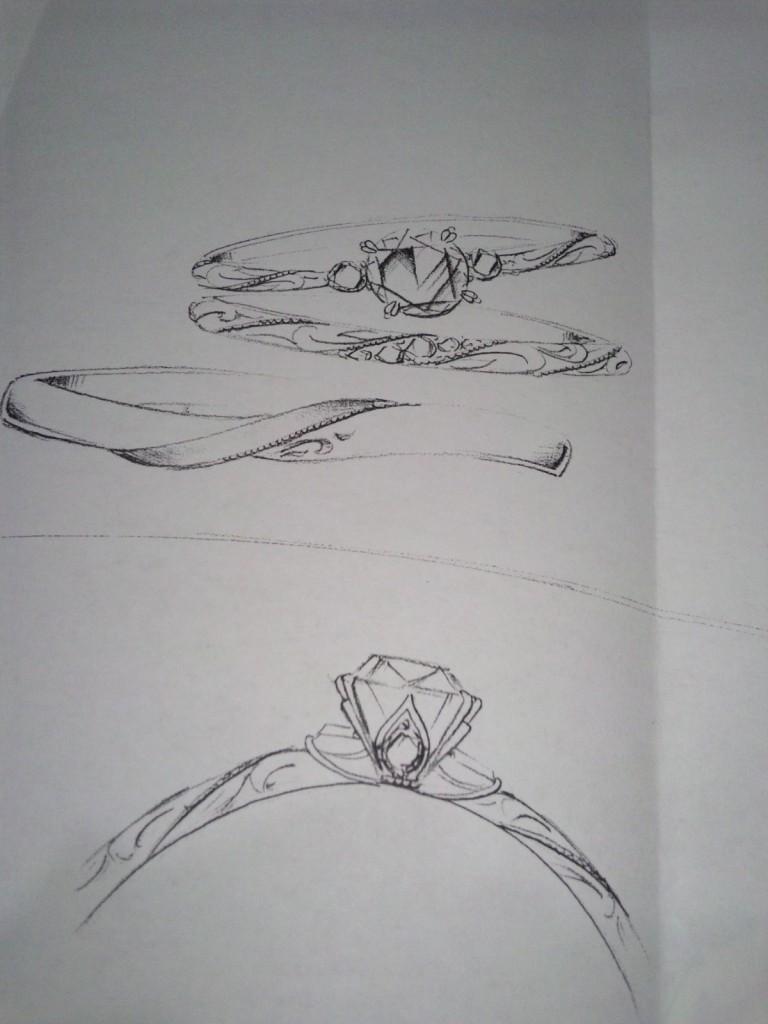 LUCIE デザイン画